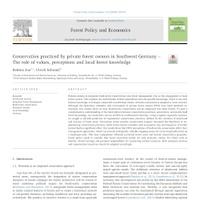 Ein weiterer neuer Artikel: Naturschutz im Privatwald