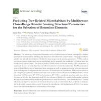 New paper: TreM prediction via RS